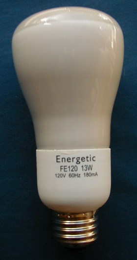 13 Watt R20 Reflector Cfl
